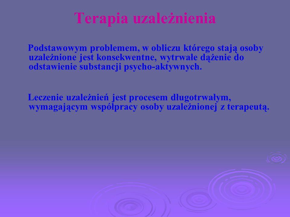 Terapia uzależnienia