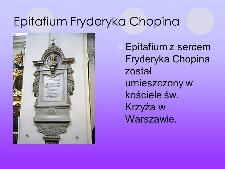 Epitafium Fryderyka Chopina