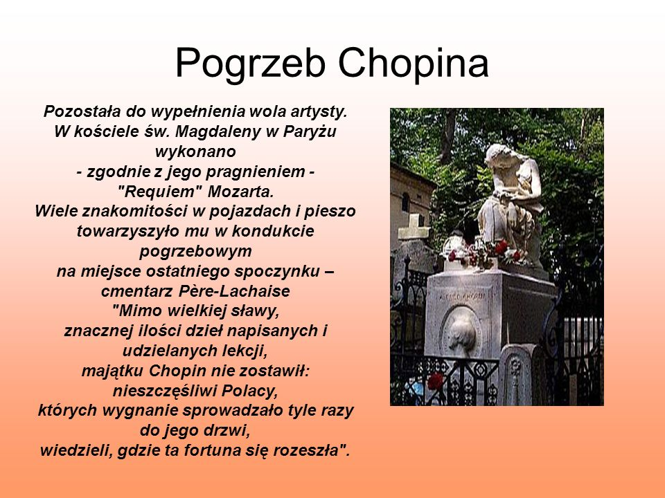 Pogrzeb Chopina