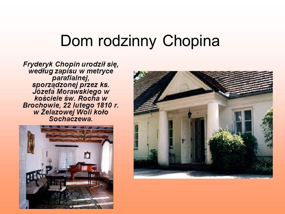 Dom rodzinny Chopina