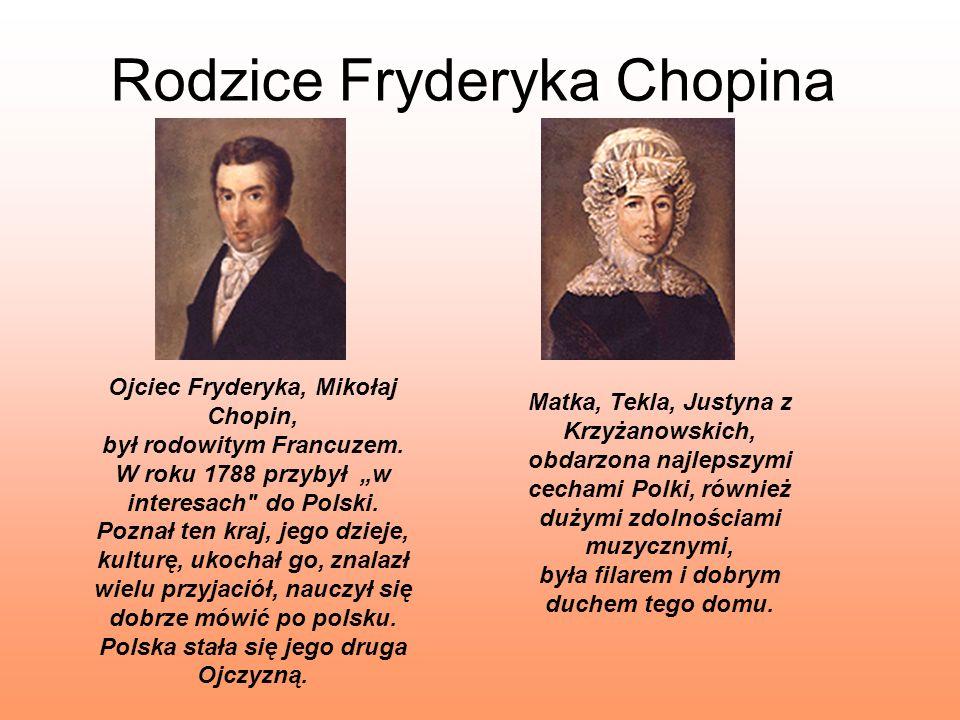 Rodzice Fryderyka Chopina