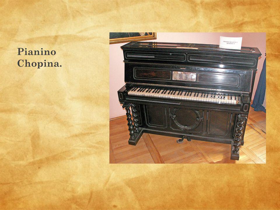 Pianino Chopina.