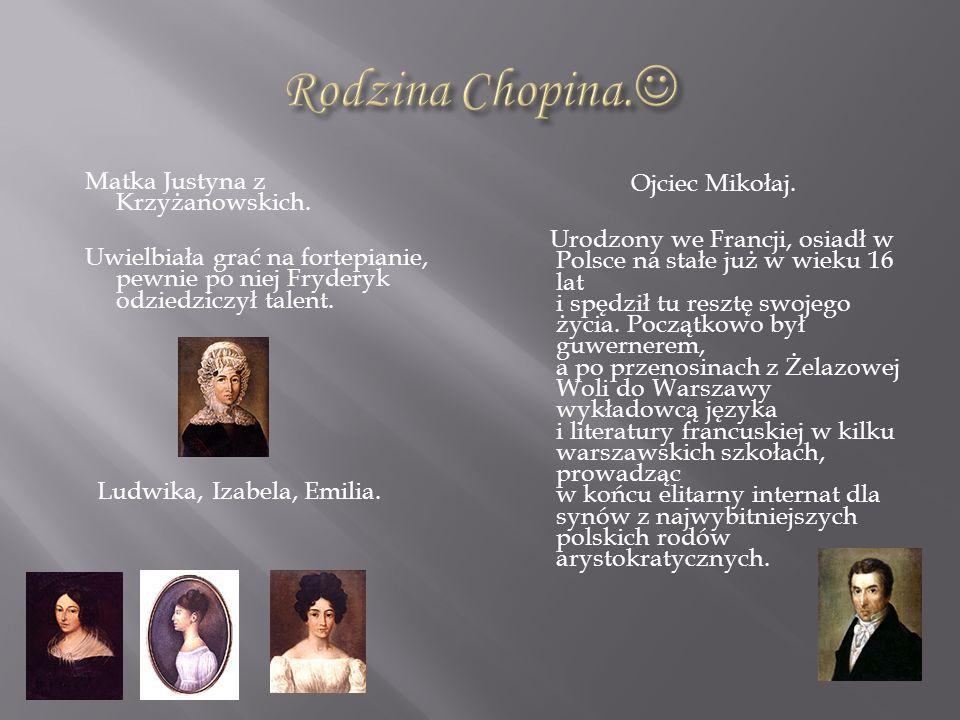 Rodzina Chopina.