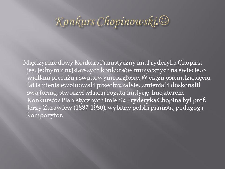 Konkurs Chopinowski.