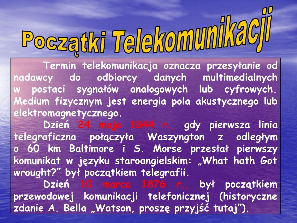 Początki Telekomunikacji