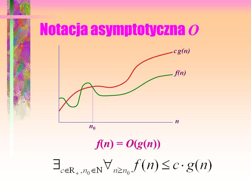 Notacja asymptotyczna O