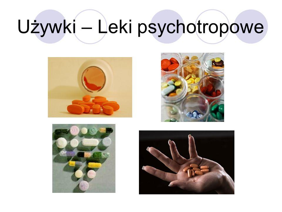 Używki – Leki psychotropowe