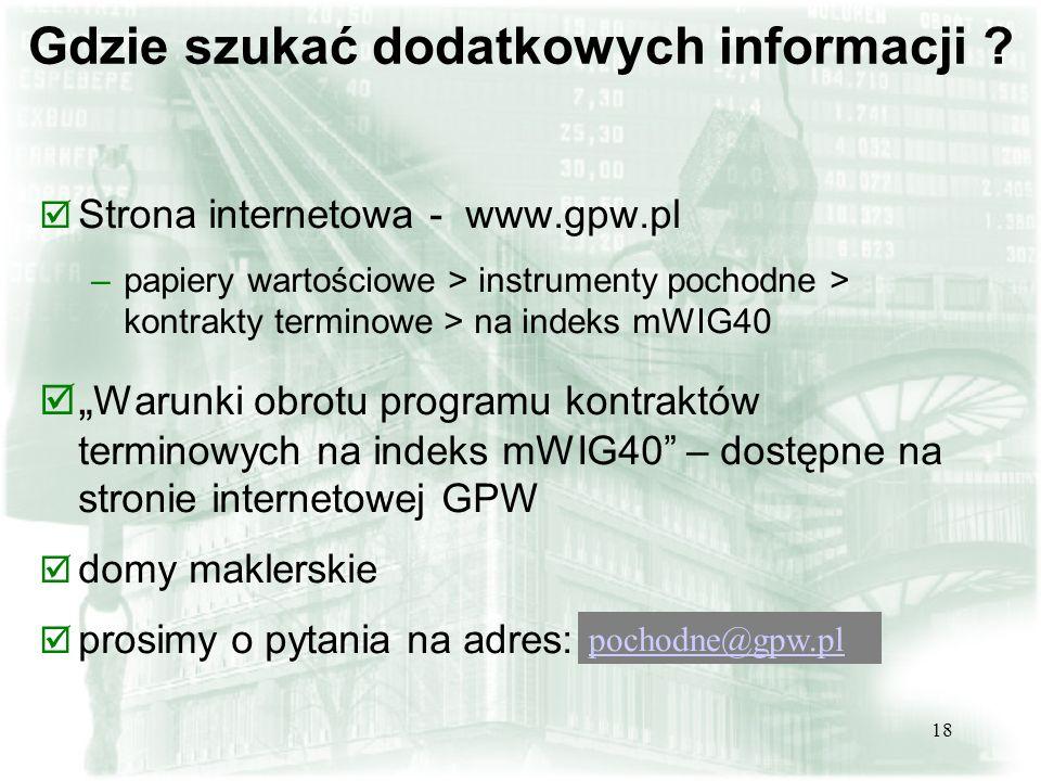 Gdzie szukać dodatkowych informacji