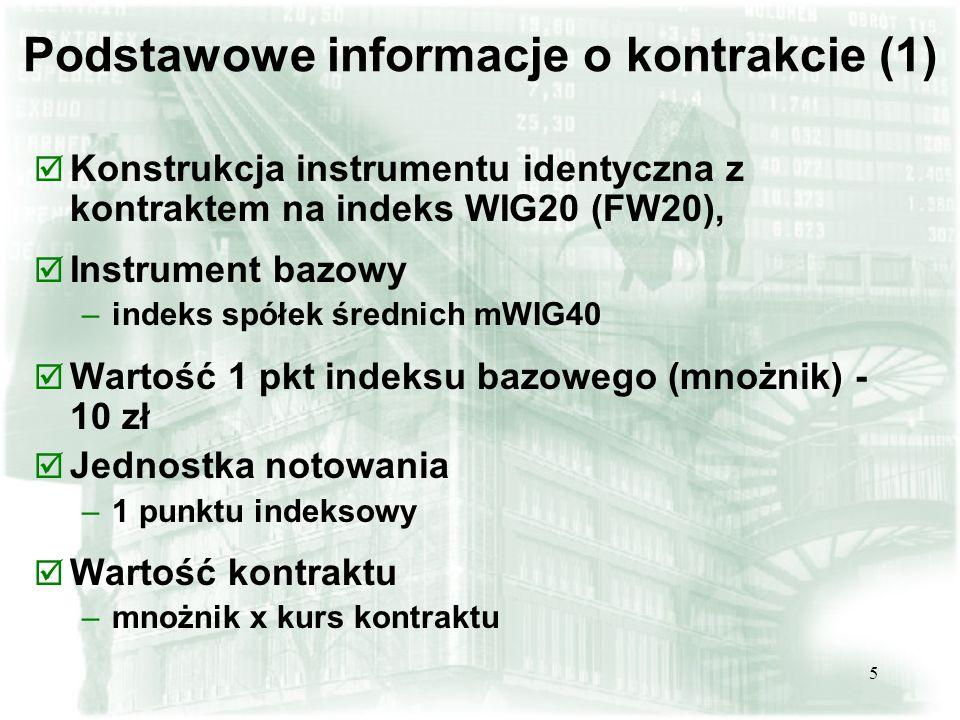 Podstawowe informacje o kontrakcie (1)