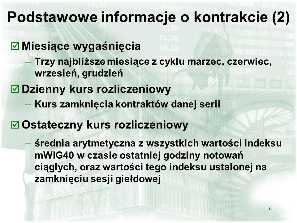 Podstawowe informacje o kontrakcie (2)