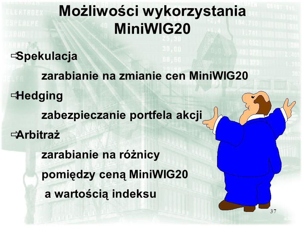 Możliwości wykorzystania MiniWIG20