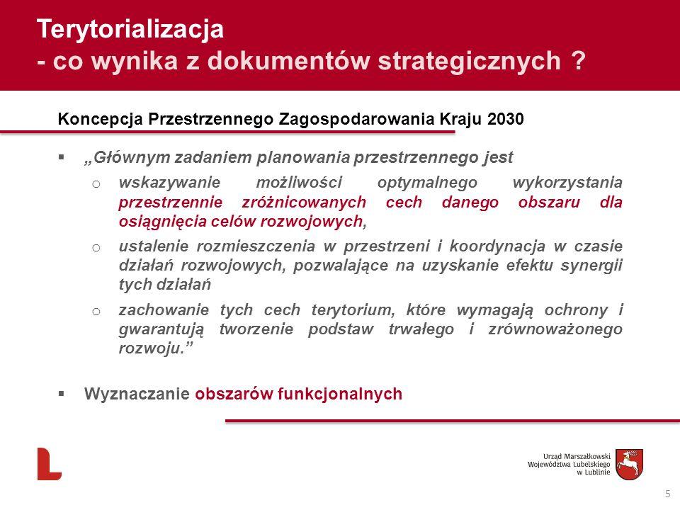 - co wynika z dokumentów strategicznych