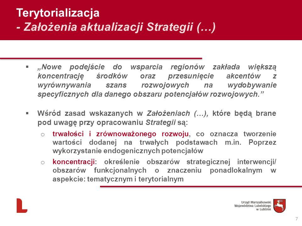 - Założenia aktualizacji Strategii (…)