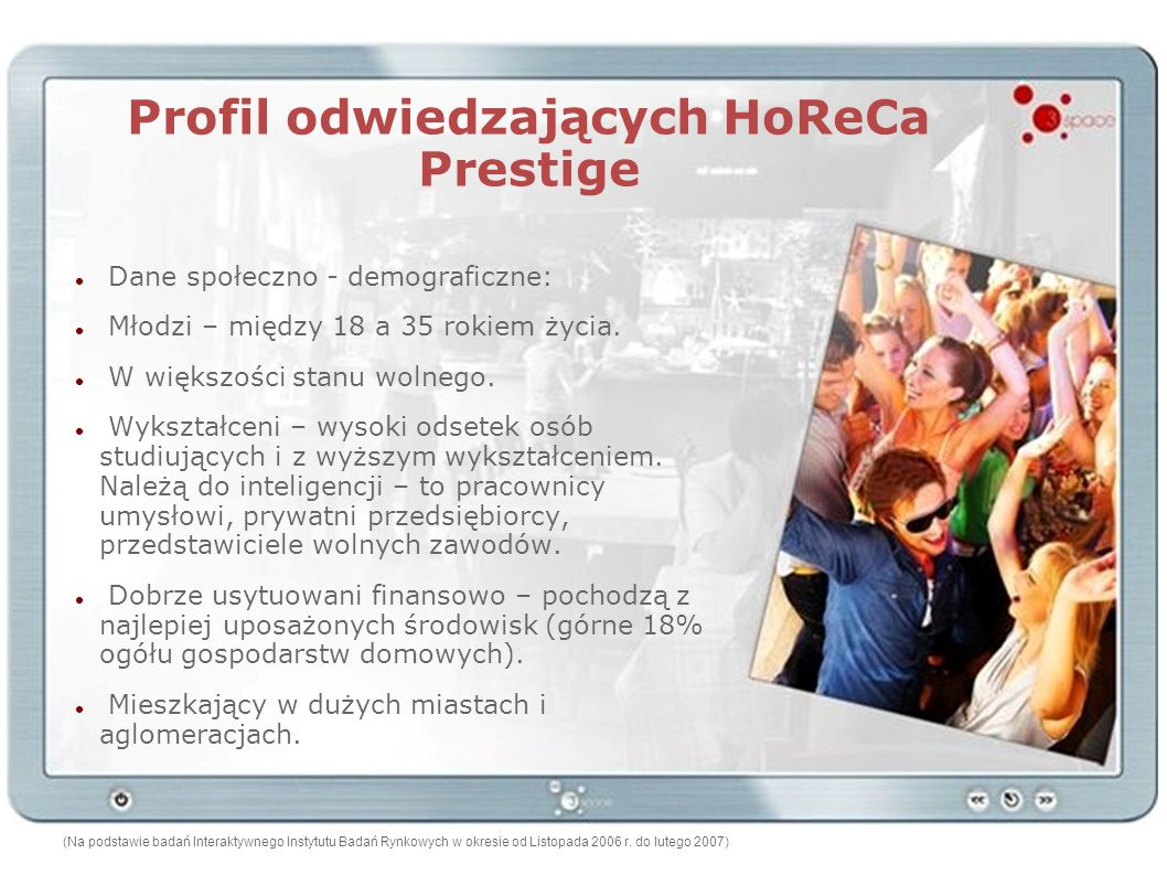 Profil odwiedzających HoReCa Prestige
