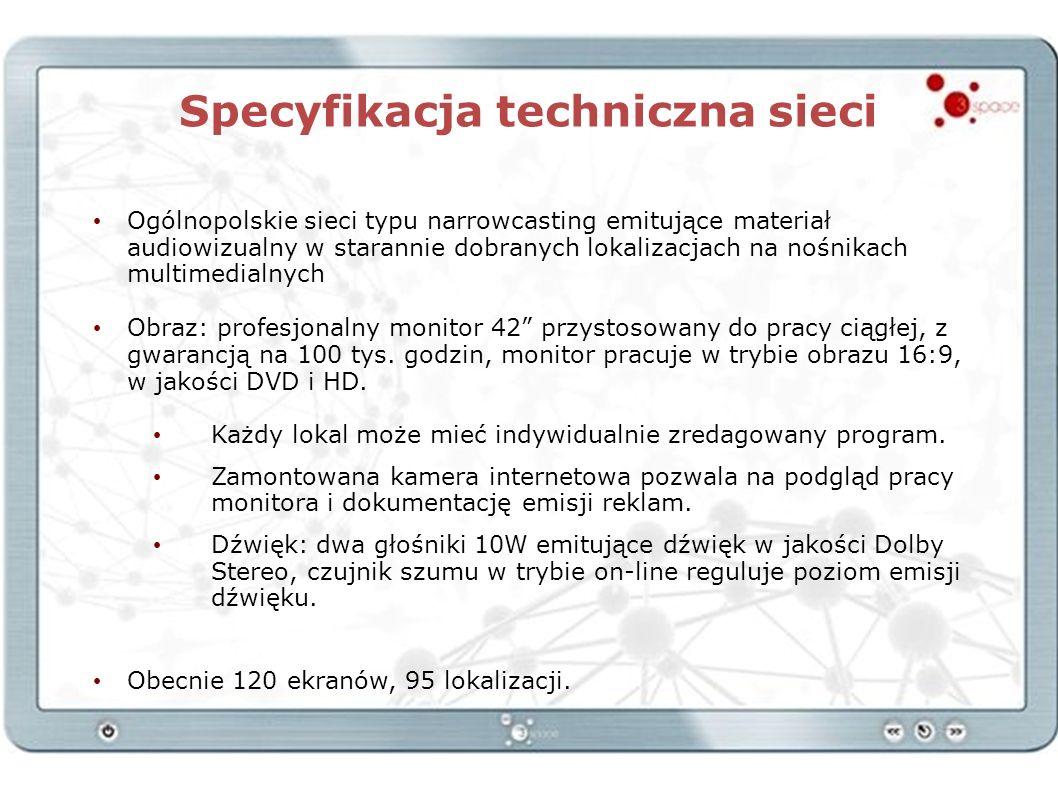 Specyfikacja techniczna sieci