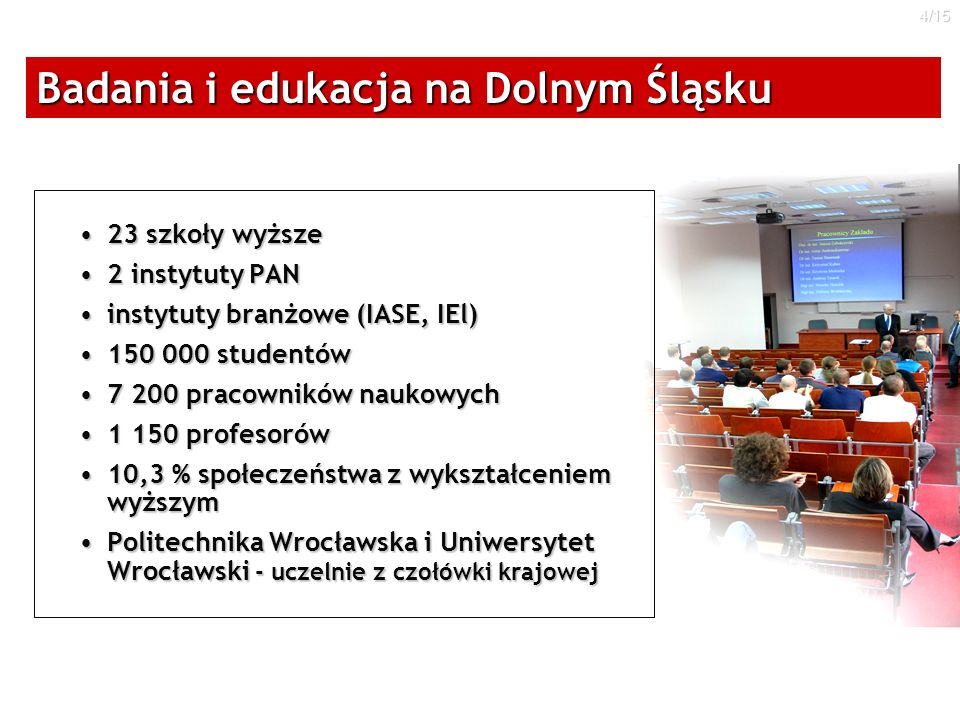 Badania i edukacja na Dolnym Śląsku