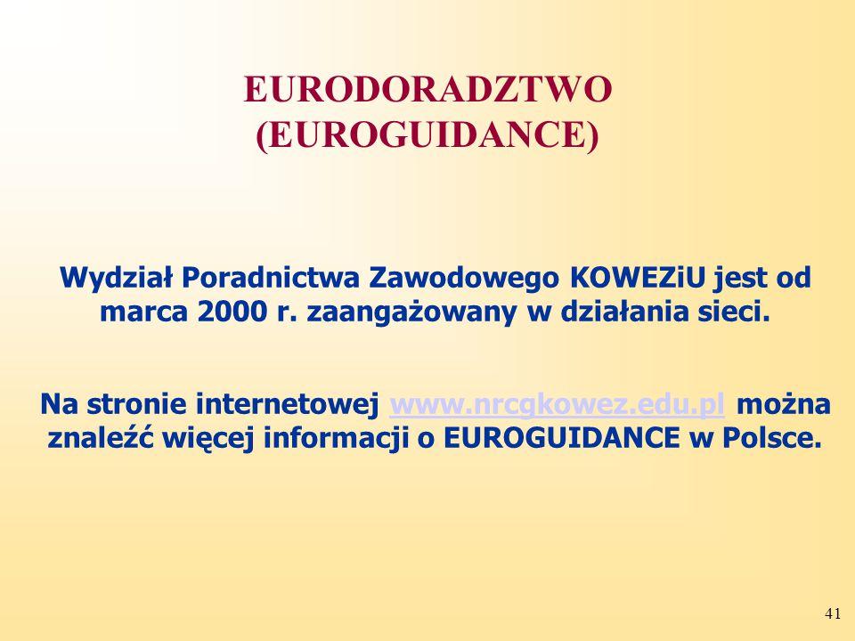 EURODORADZTWO (EUROGUIDANCE)