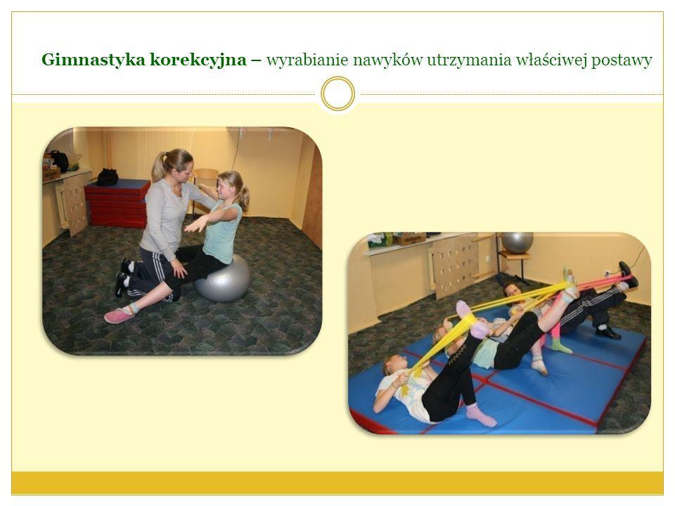 Gimnastyka korekcyjna – wyrabianie nawyków utrzymania właściwej postawy