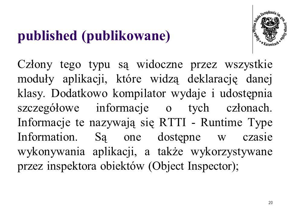published (publikowane)