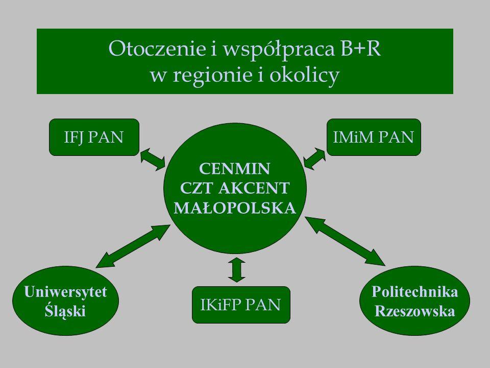 Otoczenie i współpraca B+R w regionie i okolicy