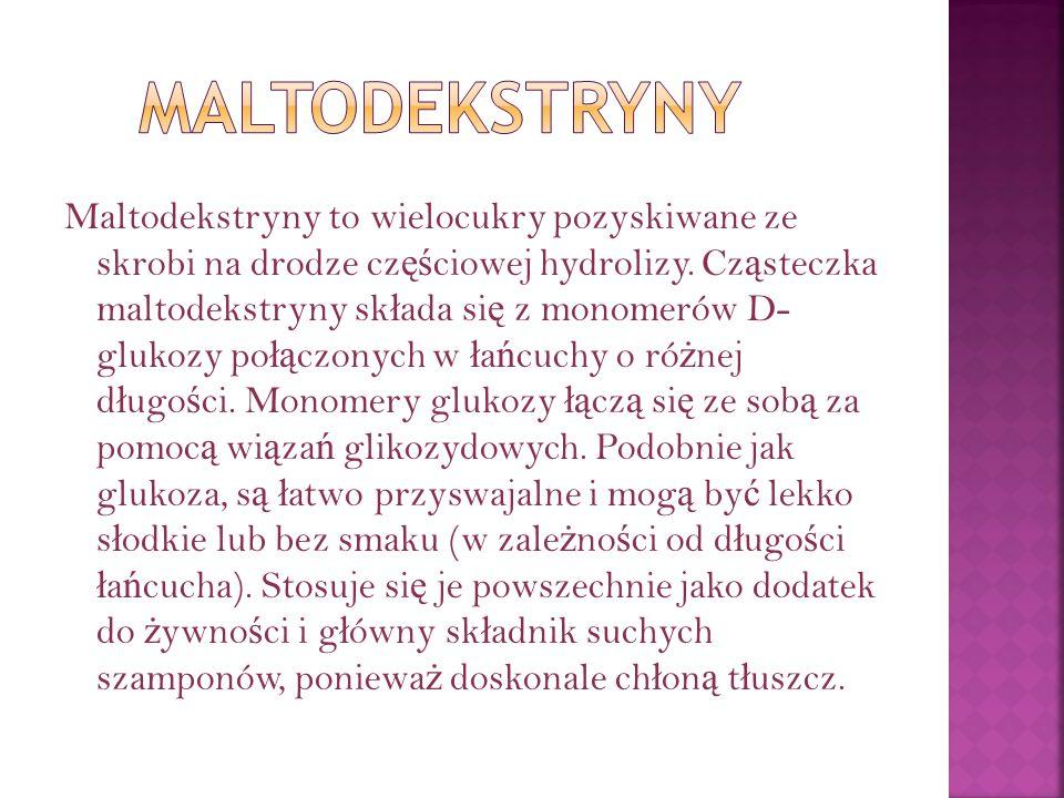 Maltodekstryny