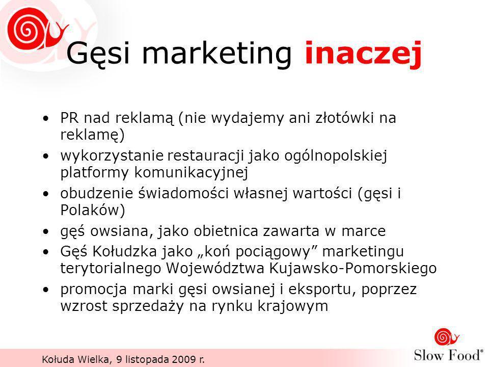 Gęsi marketing inaczej