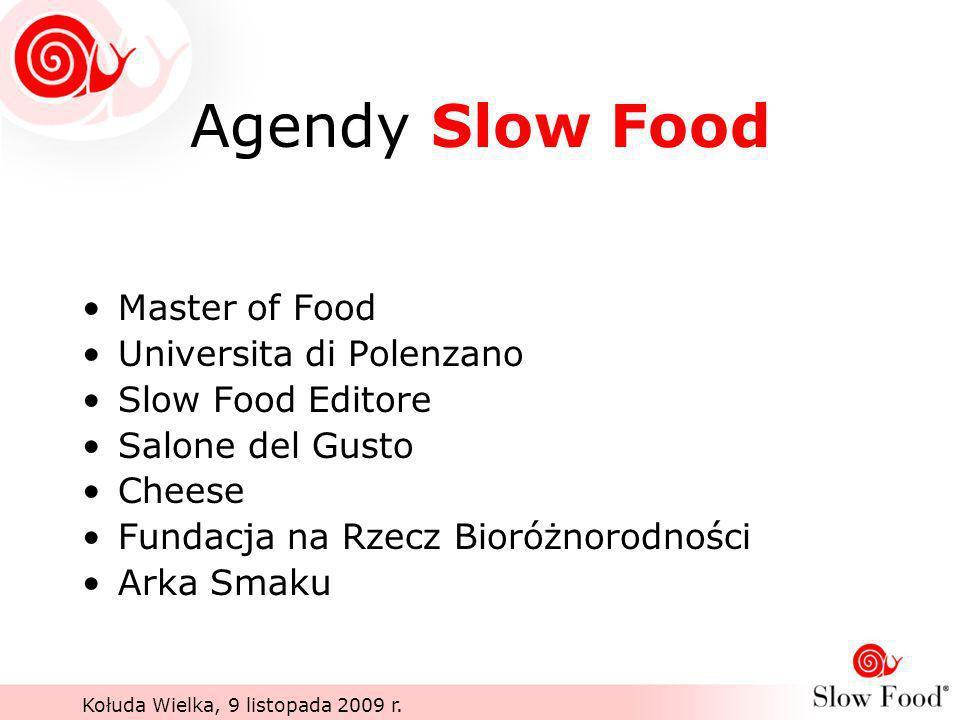 Agendy Slow Food Master of Food Universita di Polenzano