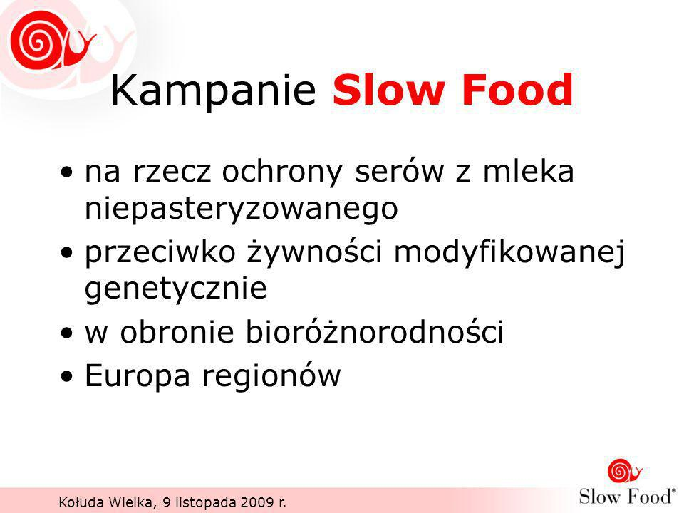 Kampanie Slow Food na rzecz ochrony serów z mleka niepasteryzowanego