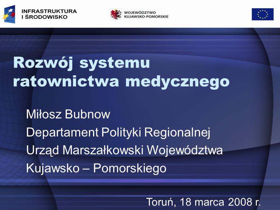 Rozwój systemu ratownictwa medycznego