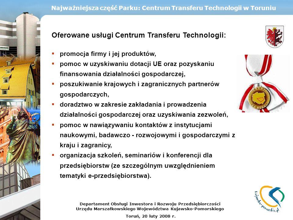 Najważniejsza część Parku: Centrum Transferu Technologii w Toruniu