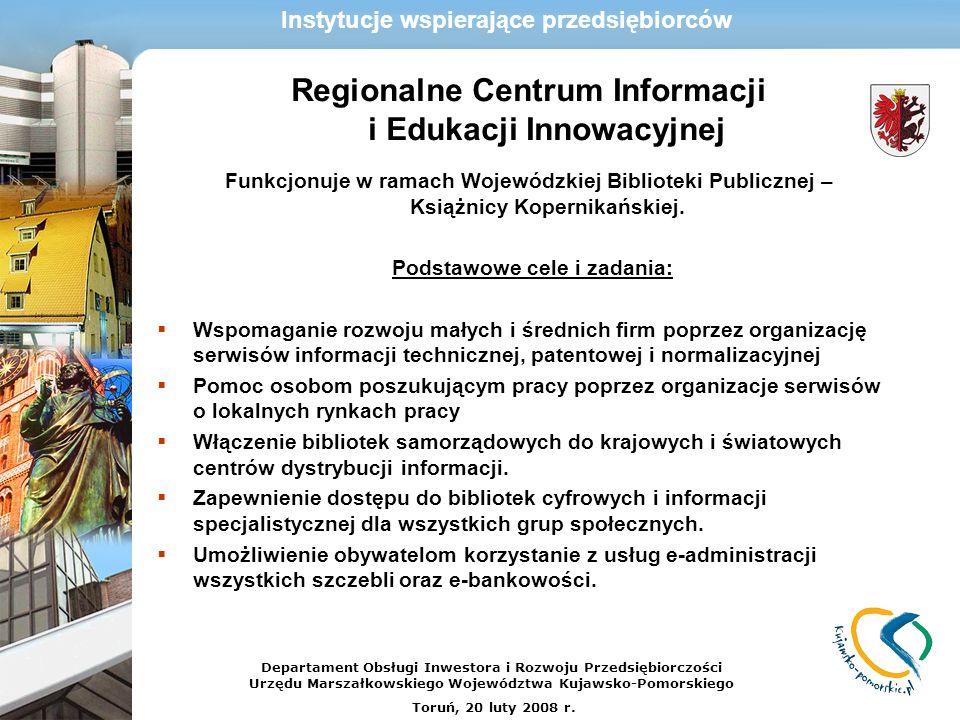 Regionalne Centrum Informacji i Edukacji Innowacyjnej