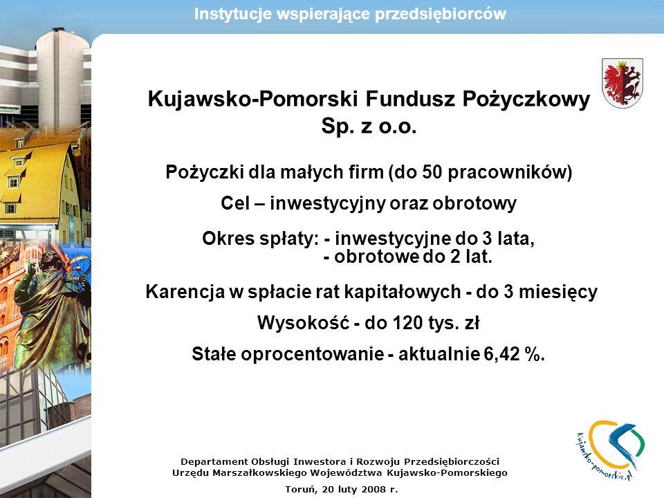 Kujawsko-Pomorski Fundusz Pożyczkowy Sp. z o.o.