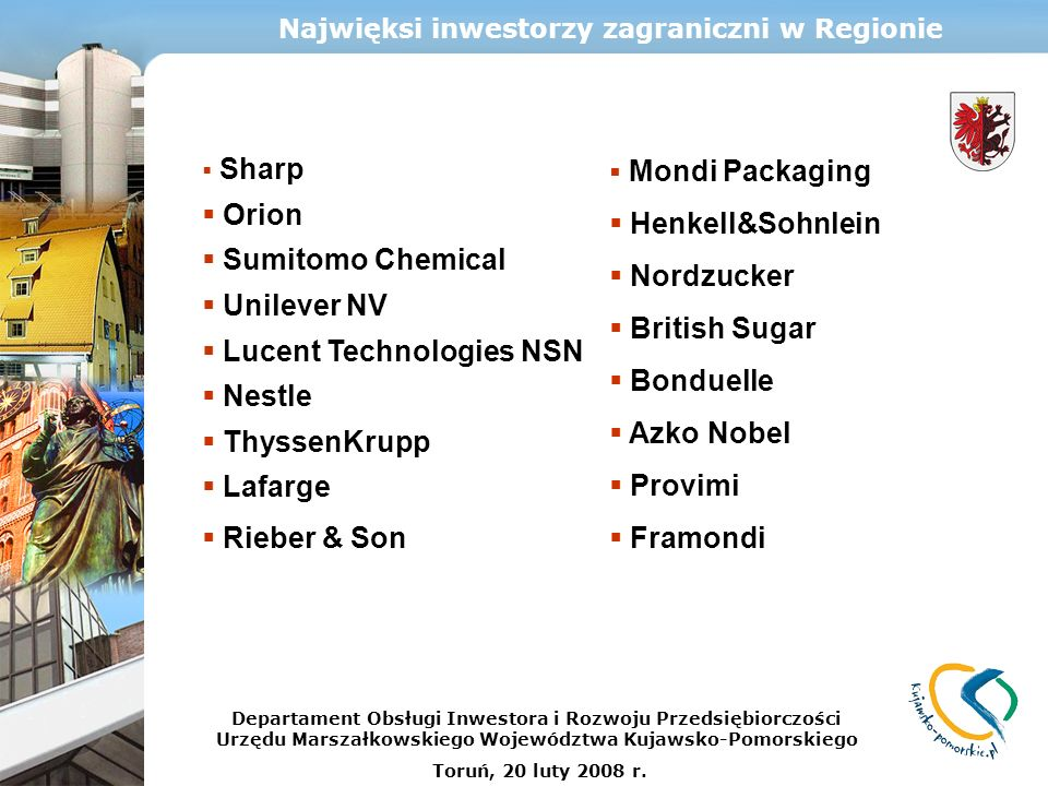 Lucent Technologies NSN Nestle ThyssenKrupp Lafarge Rieber & Son