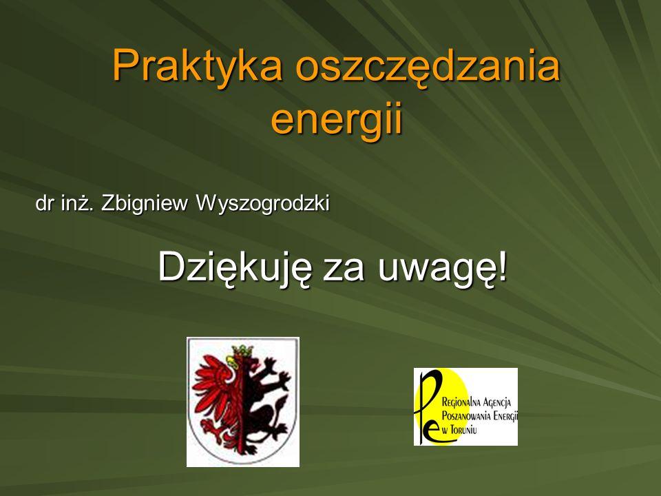 Praktyka oszczędzania energii