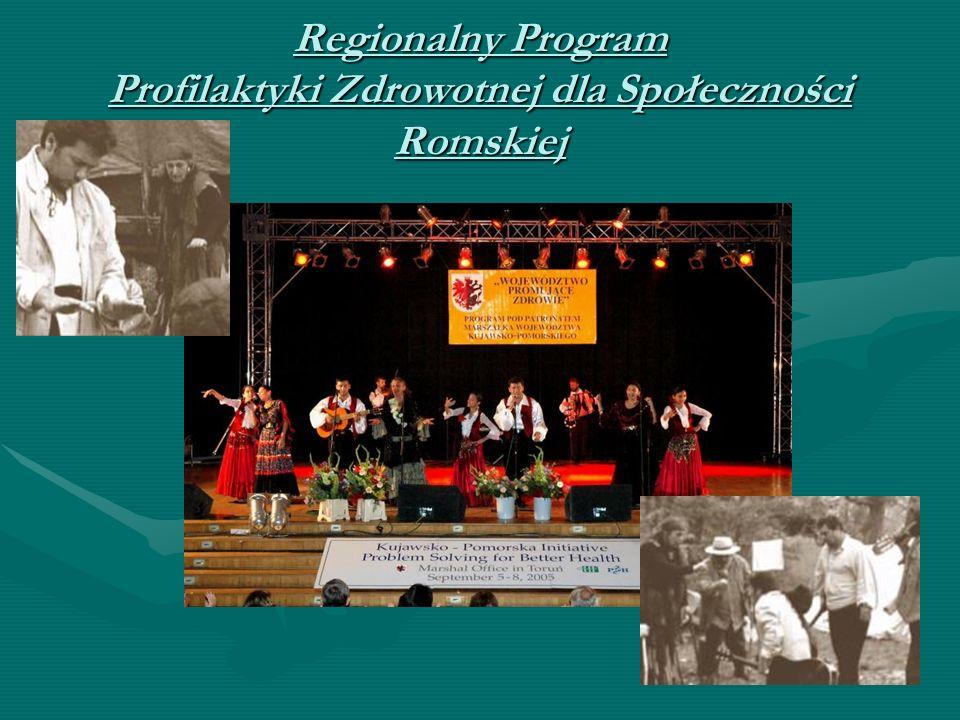 Regionalny Program Profilaktyki Zdrowotnej dla Społeczności Romskiej