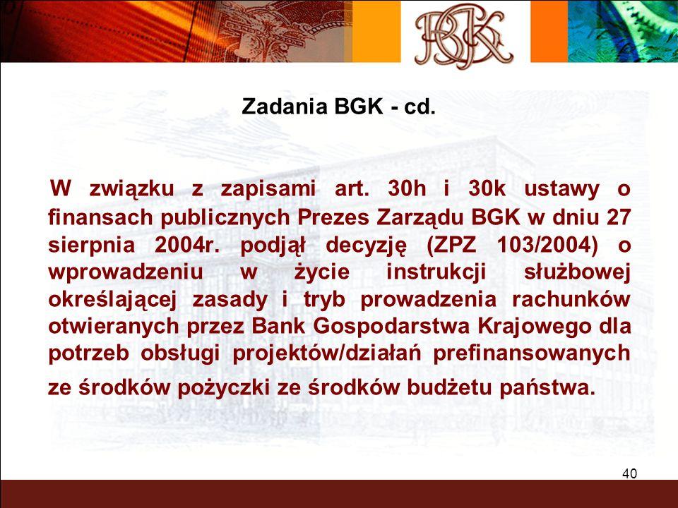 Zadania BGK - cd.