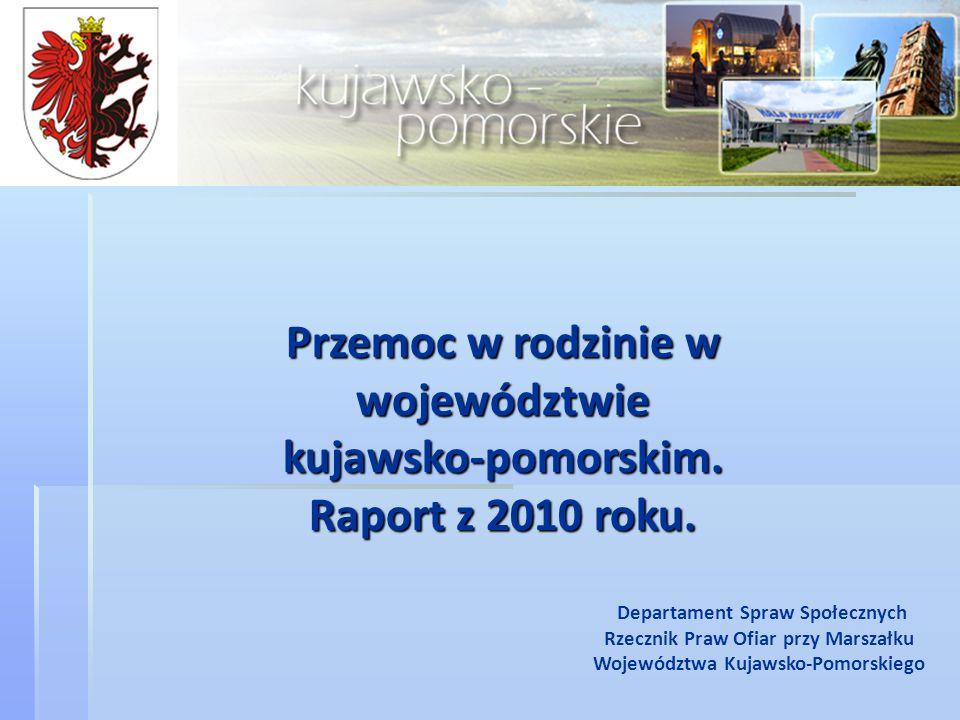 Przemoc w rodzinie w województwie