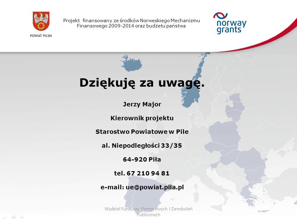 Starostwo Powiatowe w Pile e-mail: ue@powiat.pila.pl