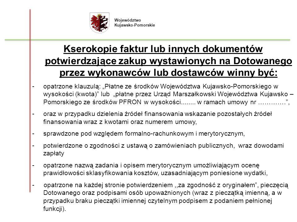 Województwo Kujawsko-Pomorskie.