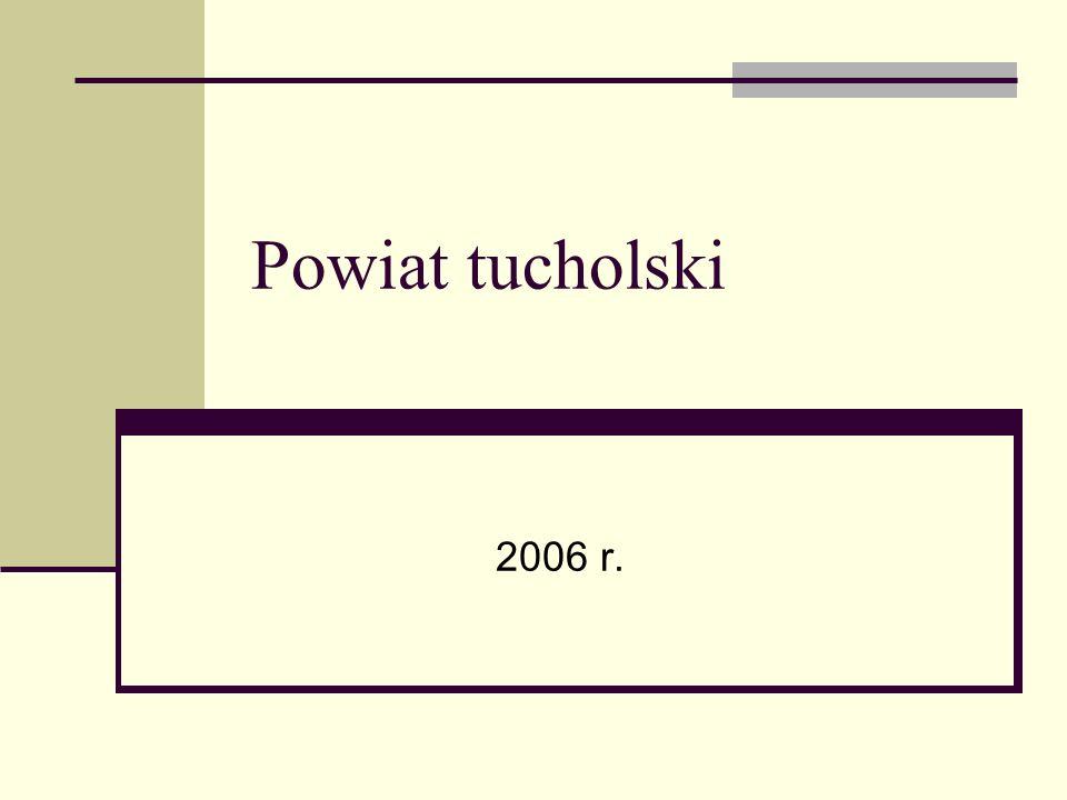 Powiat tucholski 2006 r.