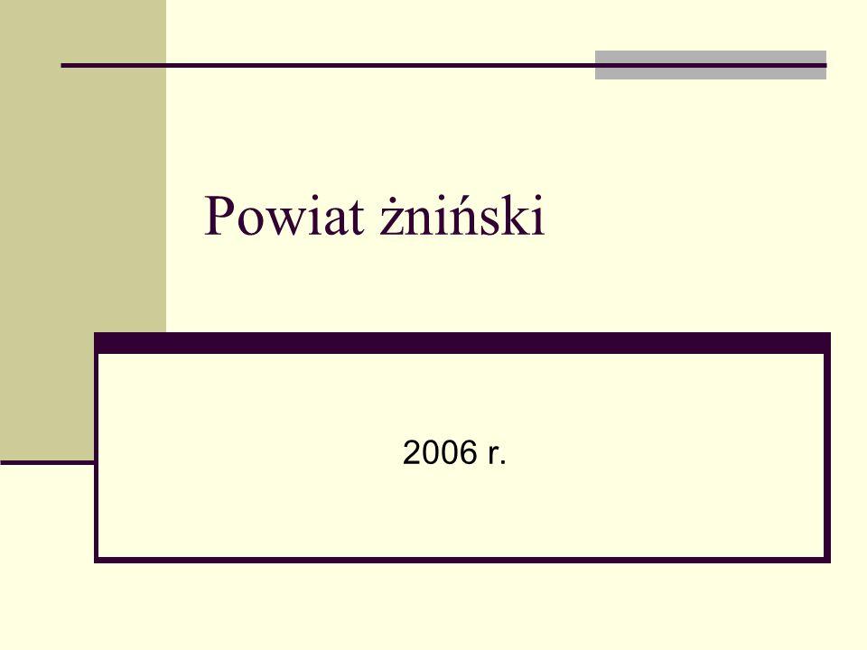 Powiat żniński 2006 r.