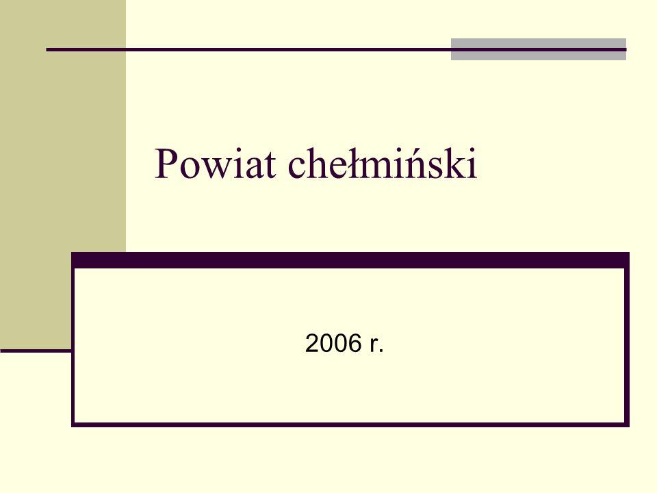 Powiat chełmiński 2006 r.