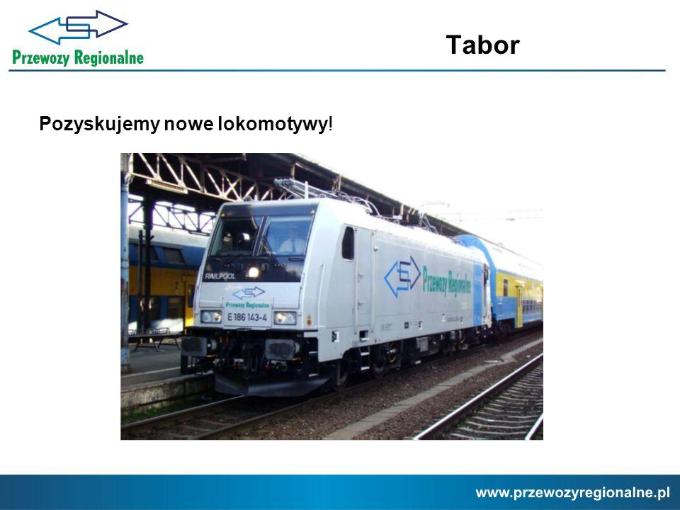 Pozyskujemy nowe lokomotywy!