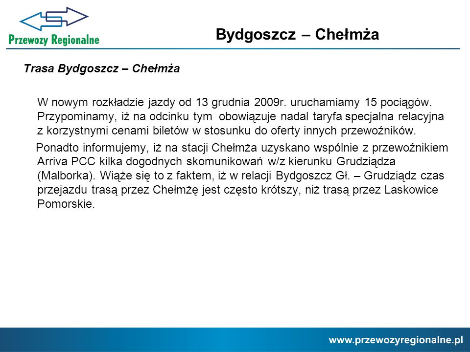 Bydgoszcz – Chełmża
