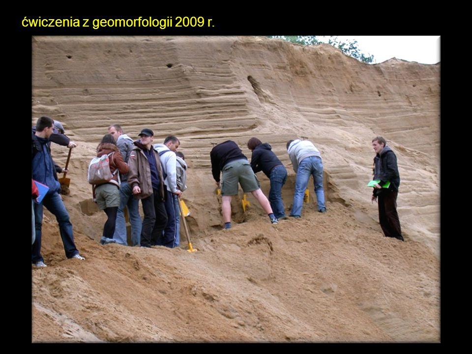 ćwiczenia z geomorfologii 2009 r.