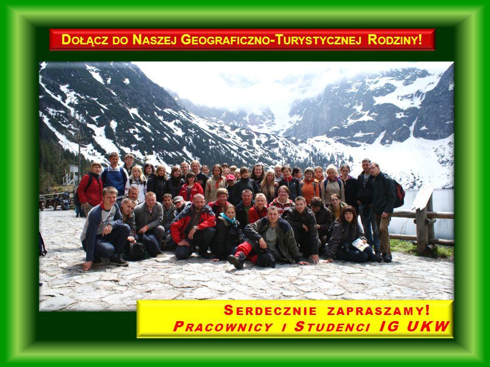 Dołącz do Naszej Geograficzno-Turystycznej Rodziny!