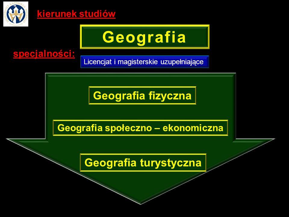 Geografia społeczno – ekonomiczna Geografia turystyczna