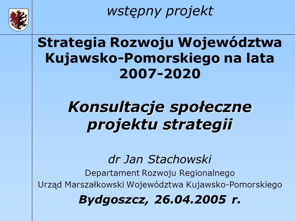 Konsultacje społeczne projektu strategii