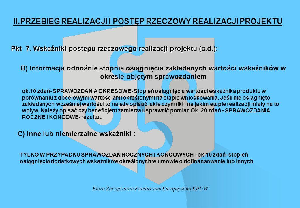 Biuro Zarządzania Funduszami Europejskimi KPUW