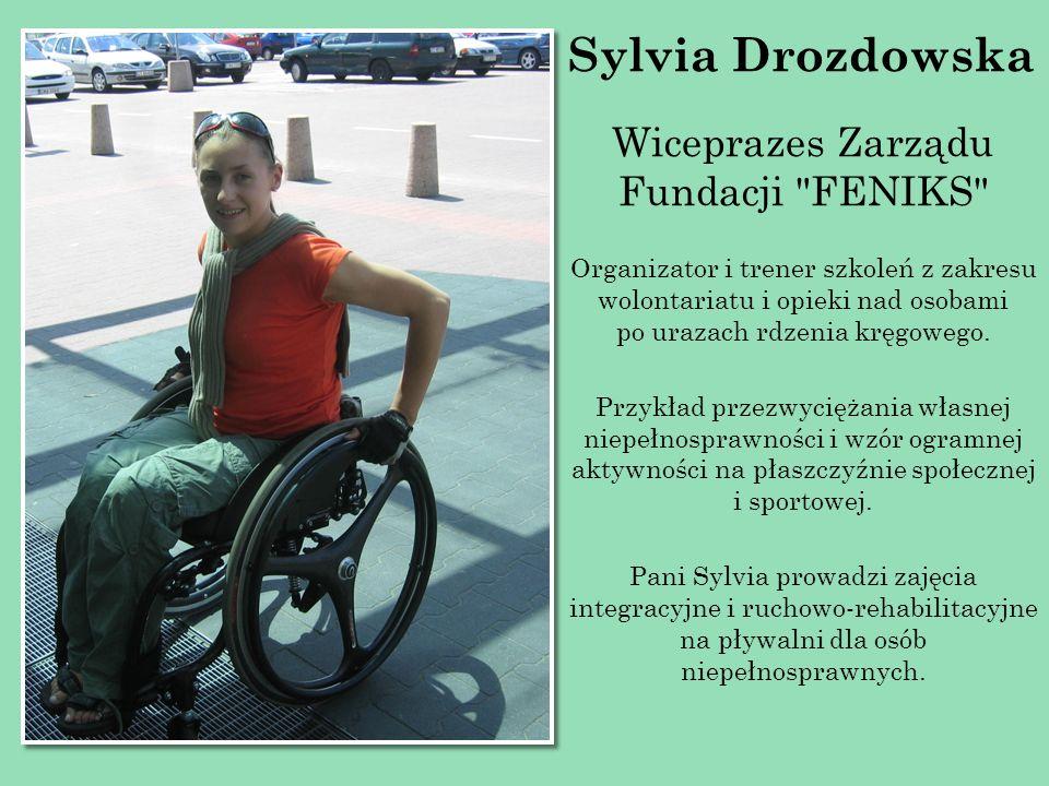 Sylvia Drozdowska Wiceprazes Zarządu Fundacji FENIKS